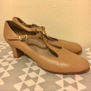 Capezio T-Strap Character Shoes